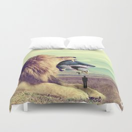 Food Chain Duvet Cover