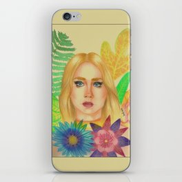 Fleur iPhone Skin