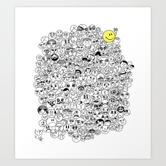 The Eternal Optimist Art Print