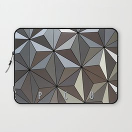 Epcot Spaceship Earth Poster Laptop Sleeve