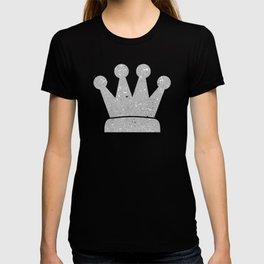 Gray Shine Texture T-shirt