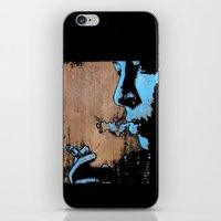 smoke iPhone & iPod Skins featuring SMOKE by ARTito