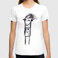 sad T-shirts featuring Sad by liga-art