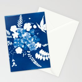How do your flowers grow? Stationery Cards