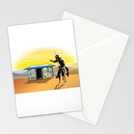 Ndebele Hut Stationery Cards