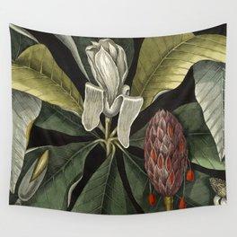 Tropical Umbrella Tree Wall Tapestry