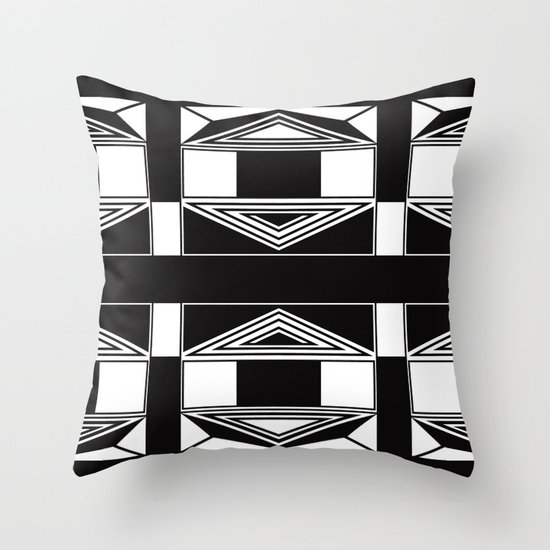 Adjacent Throw Pillow