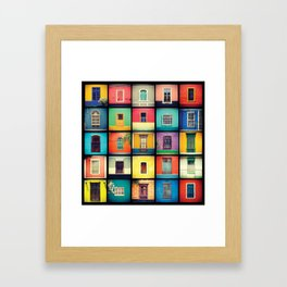 ventanas BARRANCO Framed Art Print