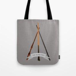 The Silver Trio Tote Bag