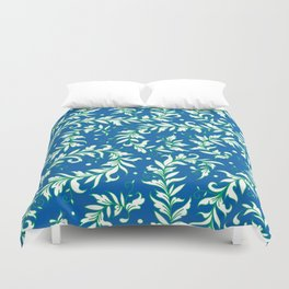 Lacy Leaves Duvet Cover