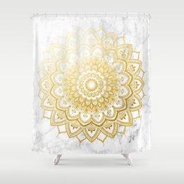 Pleasure Gold Shower Curtain