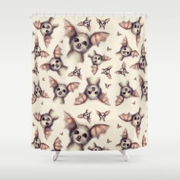 What the Fox - Pattern Shower Curtain