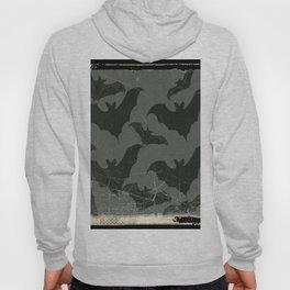 ANTIQUE  SHABBY CHIC  BATS ART DESIGN Hoody