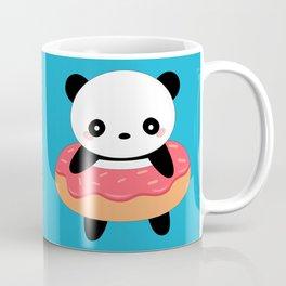 Kawaii Donut Panda Coffee Mug