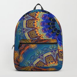 Very Bohemian Bright Mandala Backpack