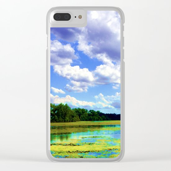 Lake Wingra, Wisconsin Clear iPhone Case