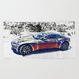 Travel In Style Beach Towel