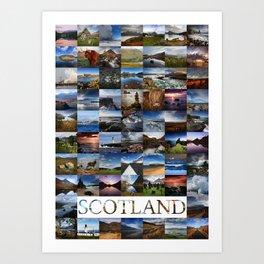 Scotland - Alba - Caledonia - Schottland - Ecosse Art Print