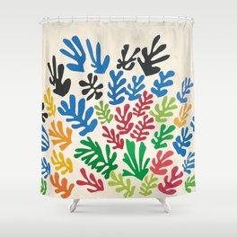 Leaf Cutouts by Henri Matisse (1953) Shower Curtain
