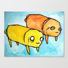 pups Canvas Print