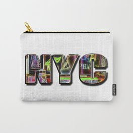 NYC (typography) Carry-All Pouch
