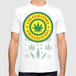 100% Smokin' Cannabis - Legalization - 100% Smokin' Cannabis T-shirt