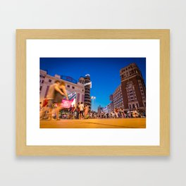 Callao Square Framed Art Print
