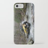 jeep iPhone & iPod Cases featuring JEEP Creek by DApple