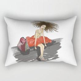 yeah Rectangular Pillow