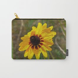 Black Eyed Susan - Photo turned Digital Paint Carry-All Pouch