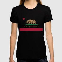 California flag, High Quality Authentic T-shirt
