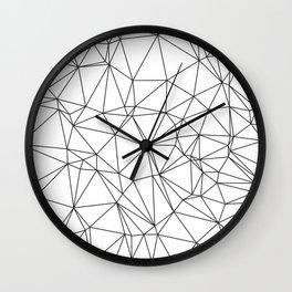 Triangular Deconstructionism Wall Clock