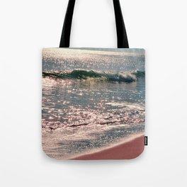 Sparkle Morning Sea Tote Bag