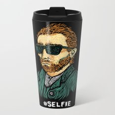Van Gogh: Master of the #Selfie Metal Travel Mug