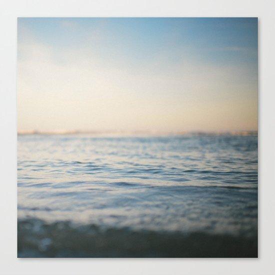 Sinking in Thin Air Canvas Print