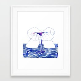 Thetis Framed Art Print