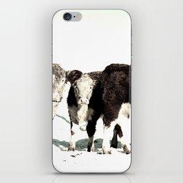 B&W Calves iPhone Skin