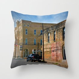 Gonzales County Throw Pillow