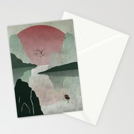 Two Of Seven Stationery Cards