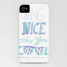 Being Nice Slim Case iPhone (4, 4s)