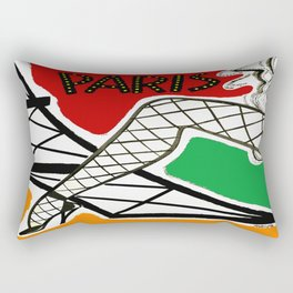 Vintage Paris France Travel Rectangular Pillow