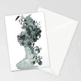 Freya's Hair (Teal) Stationery Cards