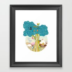 Insect Sushi Framed Art Print