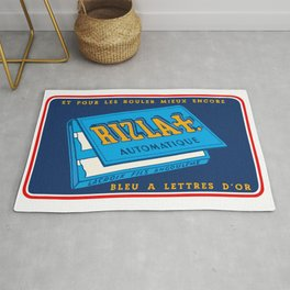 RIZLA rolling papers Rug