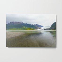 Mendenhall Glacier Juneau Alaska Metal Print
