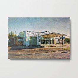 Cootamundra Garage Metal Print