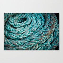 Nautical Rope Canvas Print