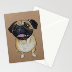 Pug Dog Stationery Cards