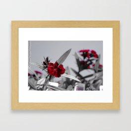 Red Petals by Igh Kihl Media/Piffington Kushfield Photography Framed Art Print