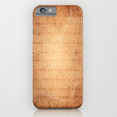 Old World iPhone 6s Slim Case